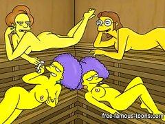 adult cartoons animation cartoon-sex