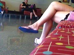 amateur fétichisme des pieds cames cachées étudiante