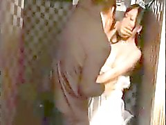 Busty Asian girl gets it on with her ex at her wedding ceremony