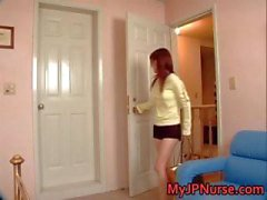 Aki Yatoh Lovely asian nurse rides part5