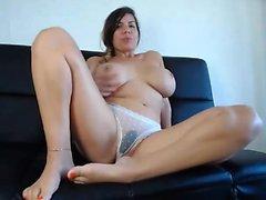 amateur bbw big boobs masturbation höschen