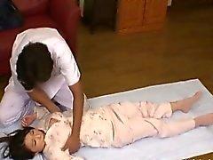asiático morena japonês massagem softcore