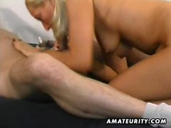 An attractive blondy amateur gf homemade hardcore action. S