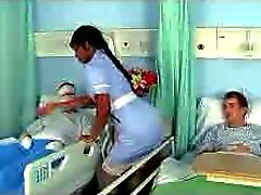 Ebony Nurse Jasmine in a good Job