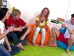 sarışın avrupa grup seks açık