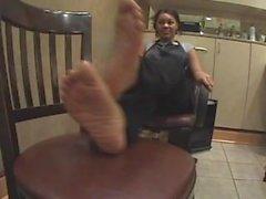 Cute Ebony Feet