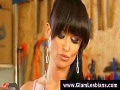 Classy glamorous stocking girls
