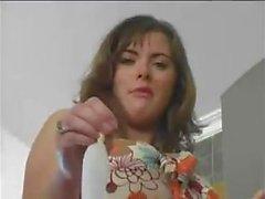 Princess Sera Humiliates Loser Cuck with Used Used Condom as Lollipop