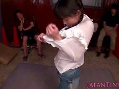 japanisch zierlich spritzen asiatisch gruppe