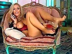 las grandes senos del jenna de hoskins rubia oficinas secretaria lencería