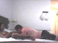 Bangkok's T-prostitute fucks fat guy