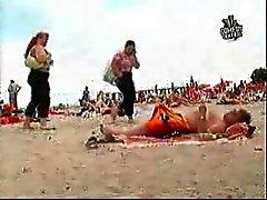 praia engraçado câmaras ocultas