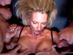 mamma mor deckaren - sugande käck - bröst