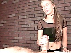 Massage femdom Pristine Edge uses fleshlight