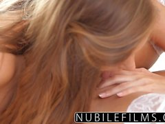 NubileFilms - Best friends lesbian seduction