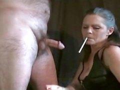 rizado de fumar fetiche