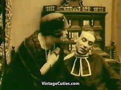 Masturbating and Persuasion to Suck (1920s Vintage)
