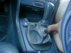 Guy FUCKS his CAR while talking dirty (German)