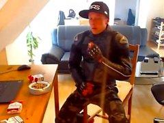 курильщик страдаете херней байкер молодым люди-