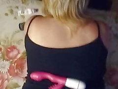 My russian wife sperm on pantyhose.