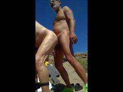 spion -cam pappa bära offentlig gay