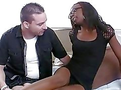 Babe demonstrates her addiction to vehement sex
