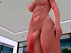 Animated shemales sucking huge dicks with pas