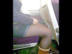 britannico camme nascoste nylon calze