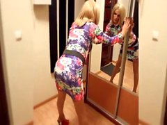 Sexy Russian Crossdresser vs Big Dick Shemale Bianca