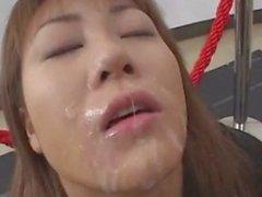 cute japanese bukkake 1