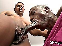 черных геев межрасовый