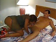 Black mature anal