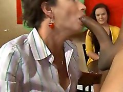 Gripping cock sucking party