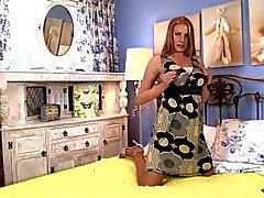 Pantyhosed4U - Danielle Maye - Slinky suntan surprise!