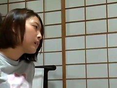 amador asiático japonês mamilos