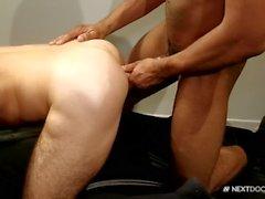Chris Harder Bends Over for Muscle Hunks Huge Dick!