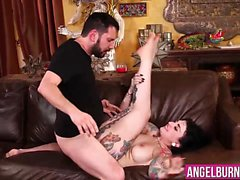 Draven Stars tight bouncing ass gets drilled hard and deep