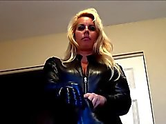 Leather Catsuit Girl