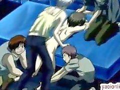 анальный аниме мультипликация гей