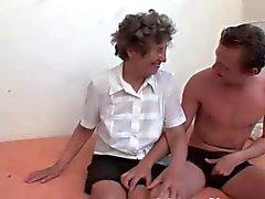Tanlines Titties Granny Fucks