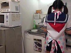 amador asiático japonês pov adolescente