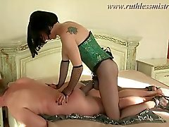 Hard decadent straponing Part1