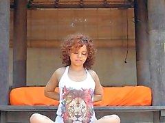 yoga todavía consolador soñando corridas