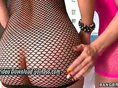anal asiático loira vibrador