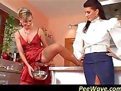 oral seks fetiş pissing üçlü