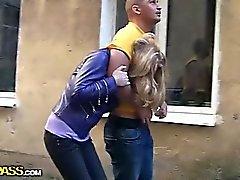 anal blondin avsugning bukkake