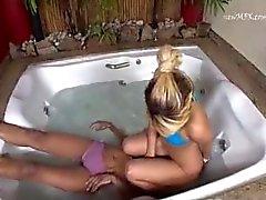 Facesitting Under Water Carol Castro