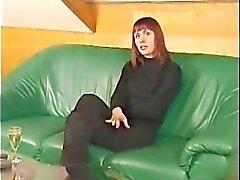 German mom masturbates for the camera