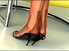 blondit saksa itsetyydytys nylon sukat