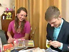 babes babysitter bionde russo adolescenza